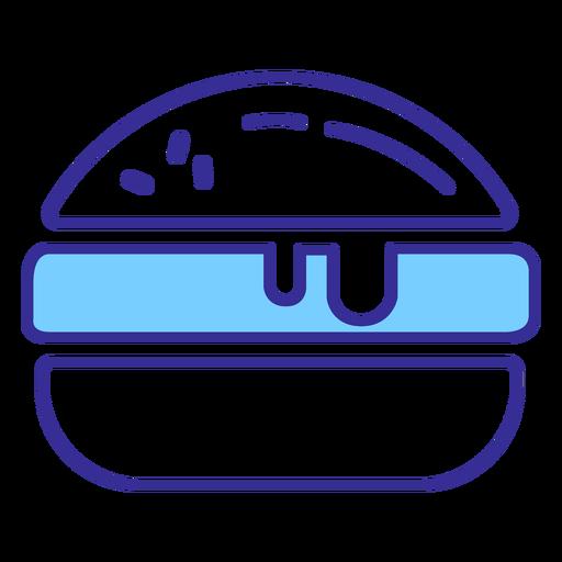 Elemento de hamburguesa americana Transparent PNG