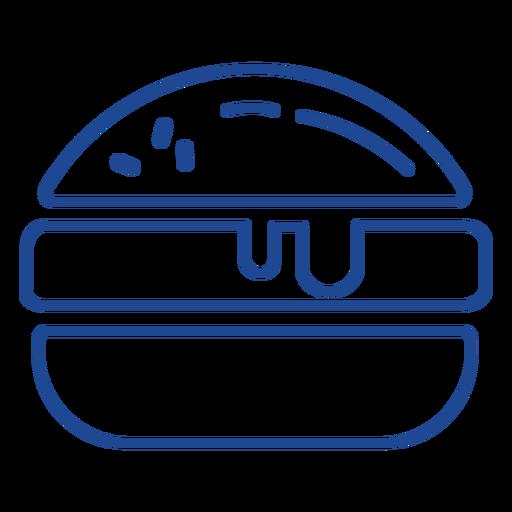 American burger stroke