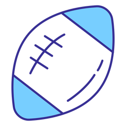American football ball element