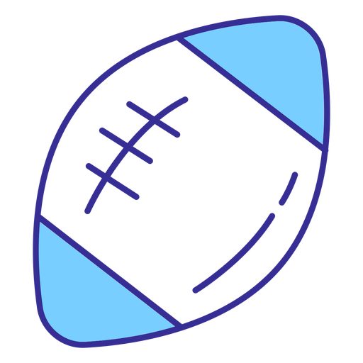 American football ball element Transparent PNG