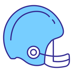 American football helmet element