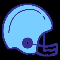Elemento de capacete de futebol americano