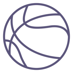 Basketball ball stroke icon basketball