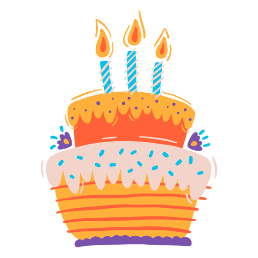Birthday cake Transparent PNG