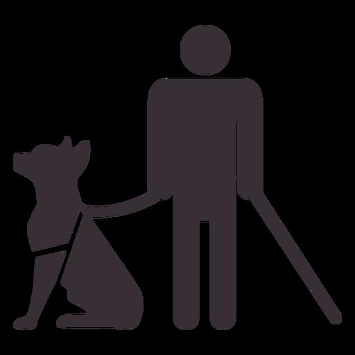 Figura de hombre ciego