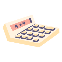 Calculator flat icon calculator