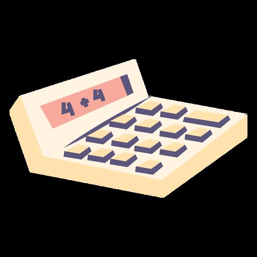 Calculadora calculadora de icono plano
