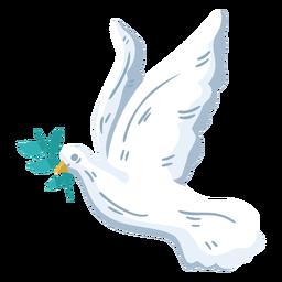 Símbolo de paz pomba