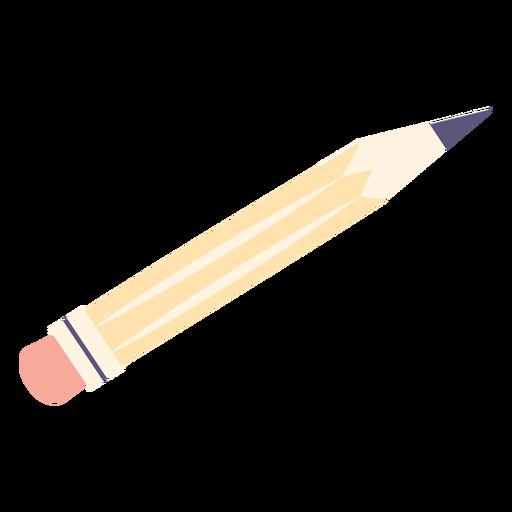 Icono plano de lápiz de dibujo