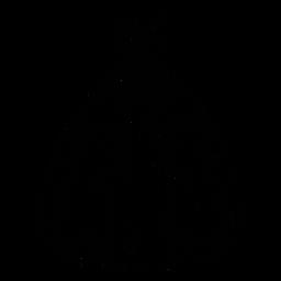 Elegantes Quinceanera-Kleid von Hand gezeichnet