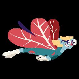 Hada volando rápido