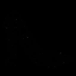 Curso de salto alto floral quinceanera