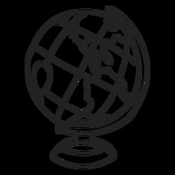 Doodle de globo