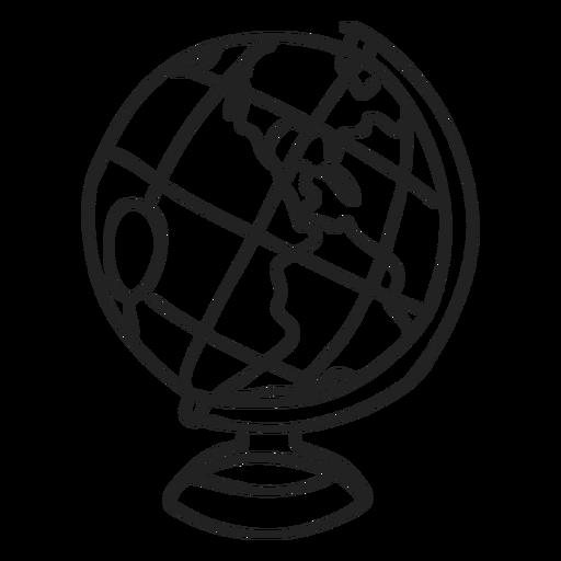 Doodle de globo Transparent PNG