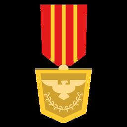 Icono de medalla de águila real