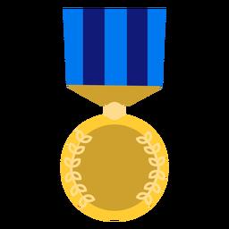 Icono de medalla dorada de educación