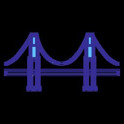 Golden gate bridge element