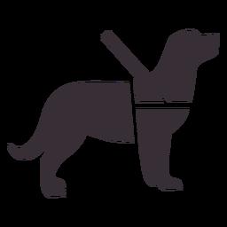 Icono de perro guía