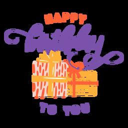 Feliz aniversário para você letras letras de aniversário