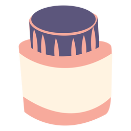 Ink bottle flat icon