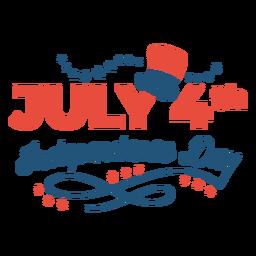 Letras del día de la independencia del 4 de julio