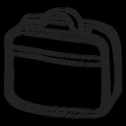 Laptop bag doodle