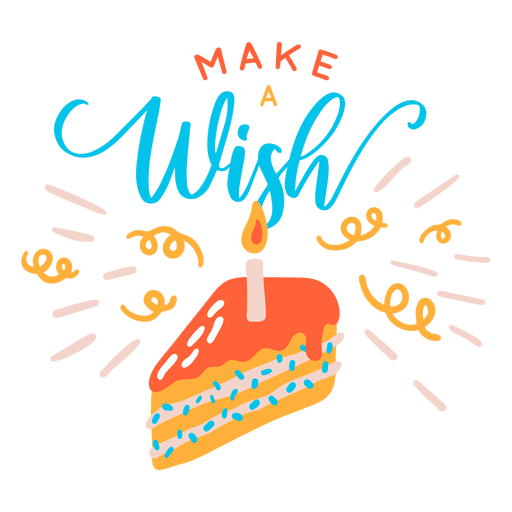 Make wish lettering