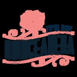 Minha inscrição floral quinceanera