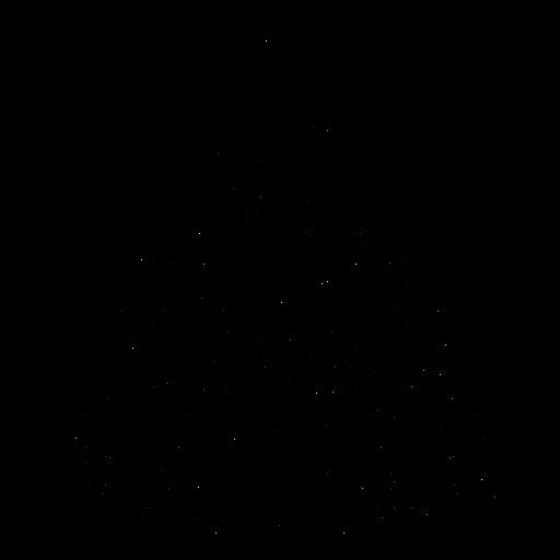 Vestido de quinceañera ornamental trazo Transparent PNG