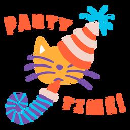 Fiesta de cumpleaños de letras