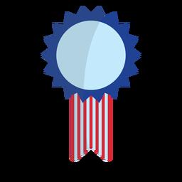 Elemento de cinta de premio patriótico