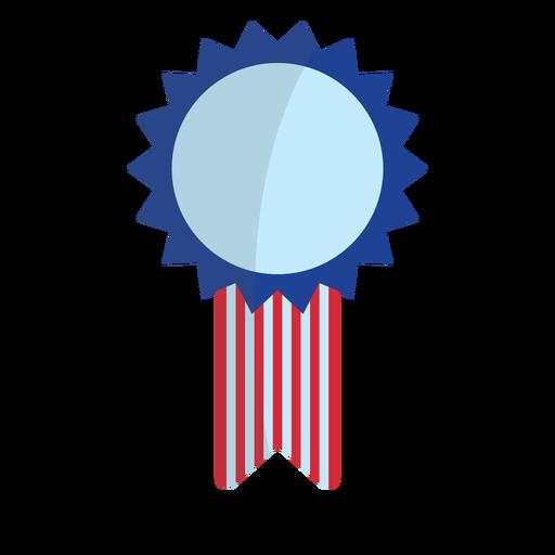 Patriotic award ribbon element