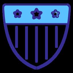 Elemento patriótico emblema