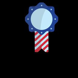 Elemento patriótico de la cinta del premio