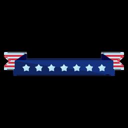 Elemento de cinta de estrellas patrióticas