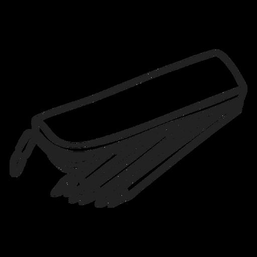 Doodle de caja de lápiz