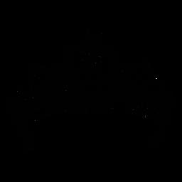 Quinceañera 15 corona trazo