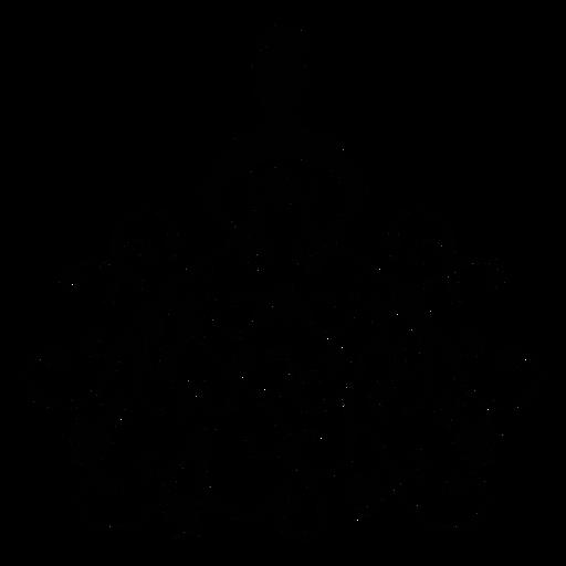 Quinceanera dress stroke element