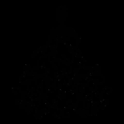 Vestido de quinceañera adorno de trazo Transparent PNG