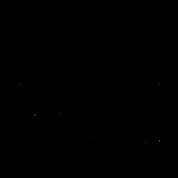 Ícone de coroa de coração Quinceanera