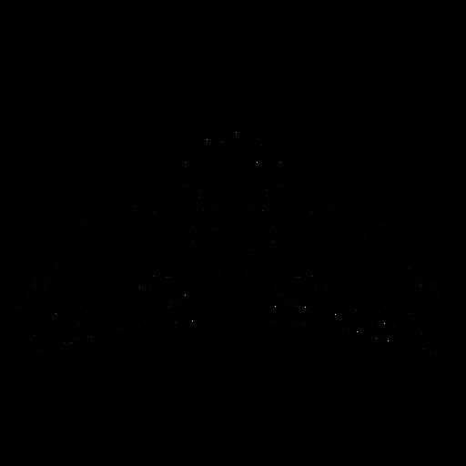 Quinceanera light tiara stroke