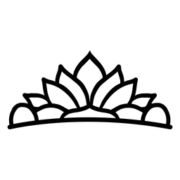 Curso de tiara de lótus Quinceanera