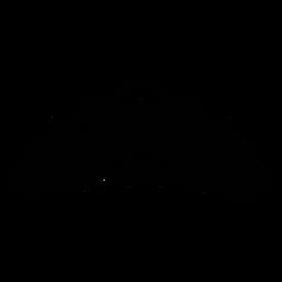 Quinceañera tiara plana