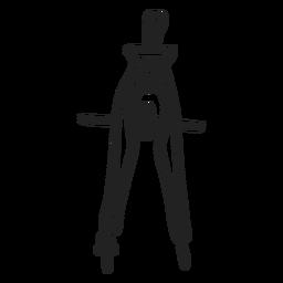 School compass doodle