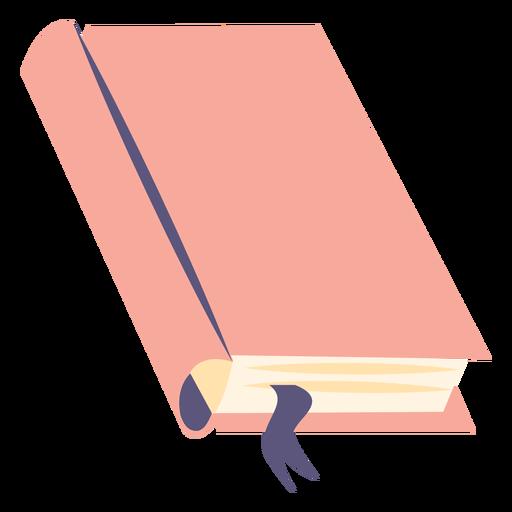 School textbook flat icon
