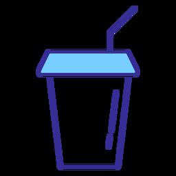 Elemento de copo de refrigerante