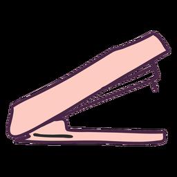 Doodle de color de la grapadora