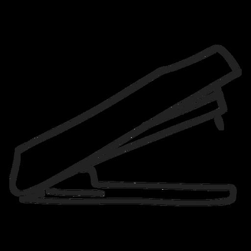 Doodle de grapadora Transparent PNG