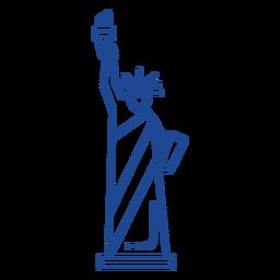 Curso da estátua da liberdade