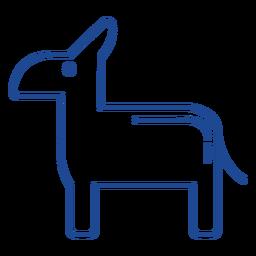 Símbolo de partido democrático estadounidense
